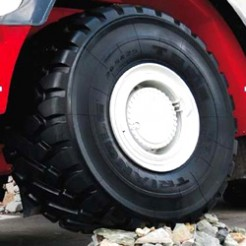 Как верно подобрать шины для спецтехники