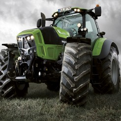 Новые тракторы Deutz-Fahr с шинами BKT