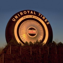 Самая большая в мире шина отметила свое пятидесятилетие