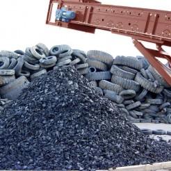 Первый завод по переработке крупногабаритных шин в Латинской Америке