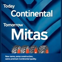 Планы Mitas относительно сельскохозяйственных шин Continental