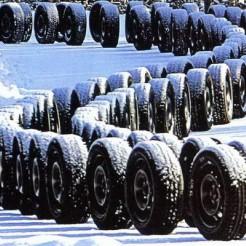 Больше 18 млн шин ввезено в Россию за 10 месяцев