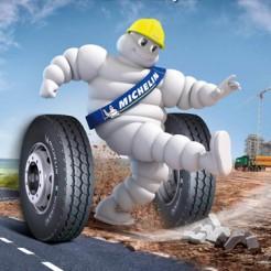 Новые шины для строительной техники Michelin X Works