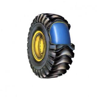 Заполнение шины 13.00-24 полиуретаном